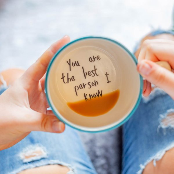 you are the best person i know cup gift for best friend