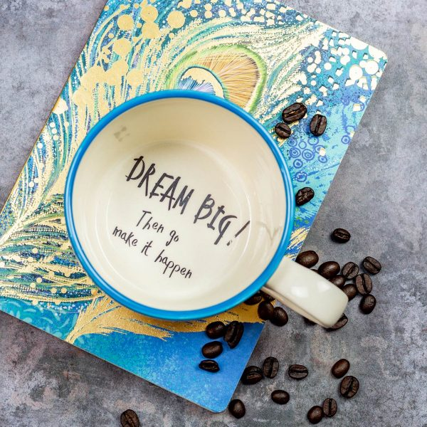 Dream Big Mug - Kate Ceramics