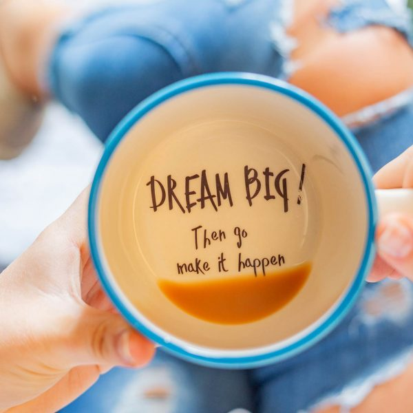 Dream Big Mug - Kate Ceramics