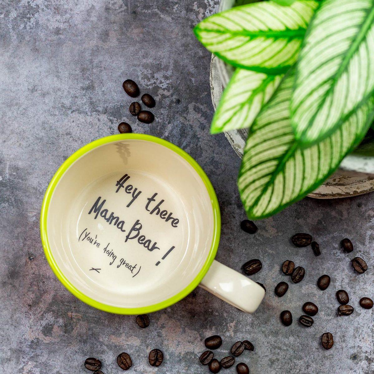 Hey There Mama Bear Mug - Kate Ceramics