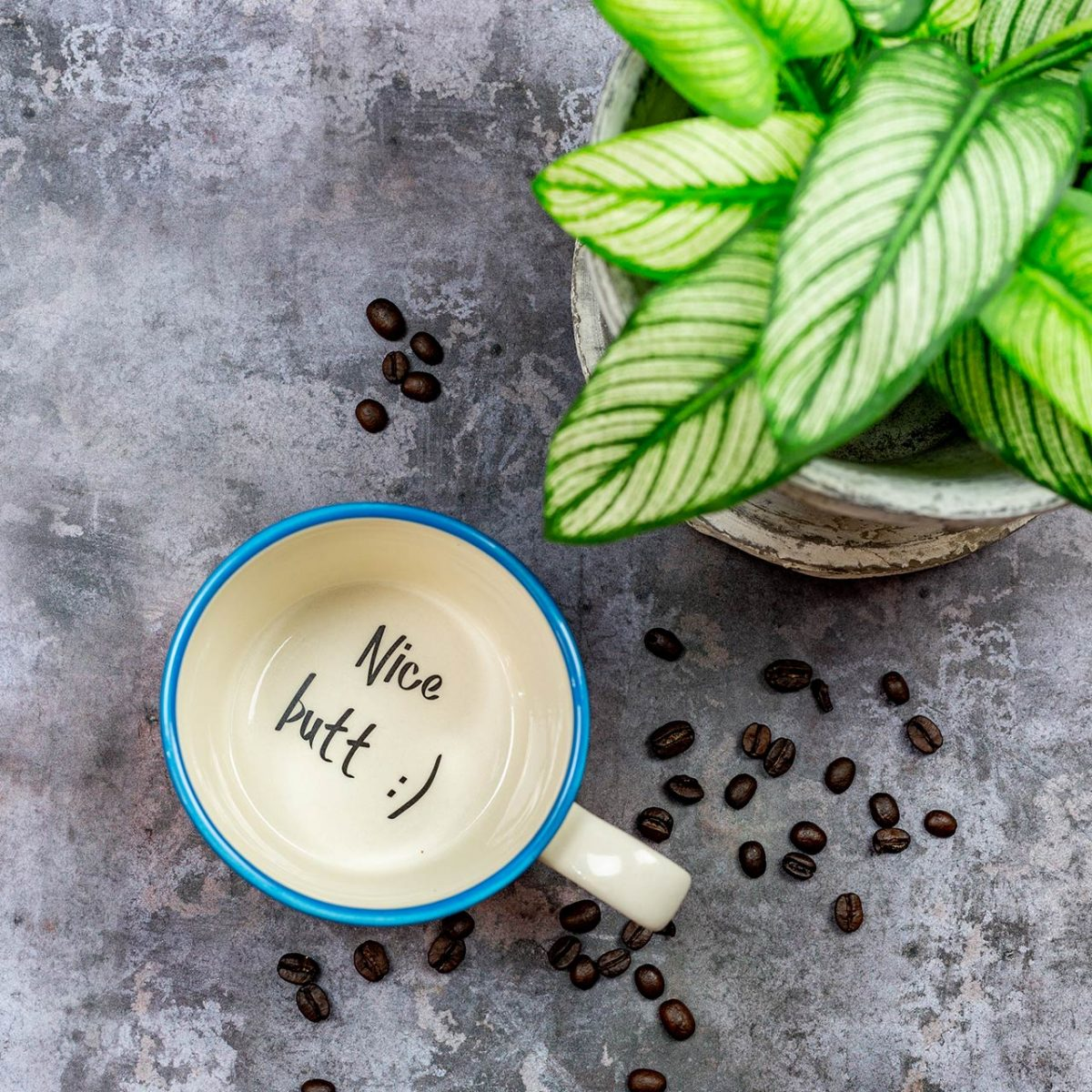 Nice Butt Mug - Kate Ceramics
