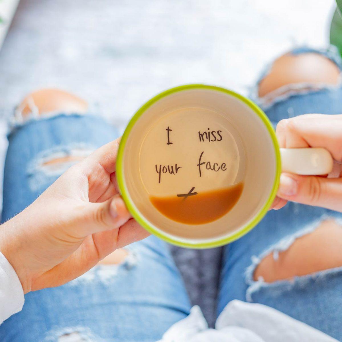 I Miss Your Face Mug - Kate Ceramics